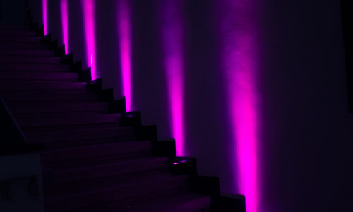 Ambiente Beleuchtung Treppe Carlos Magnus Center Übach Palenberg